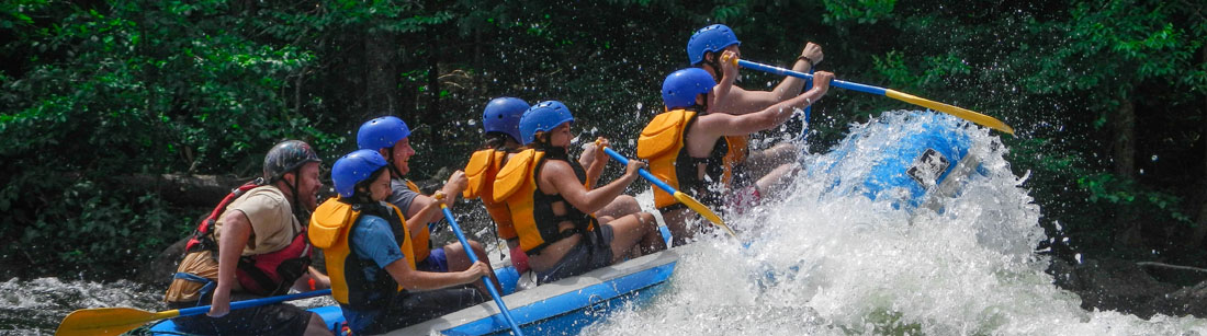 White Water Rafting in NH and Maine