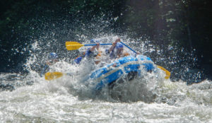 Big whitewater rafting Rapid River Maine