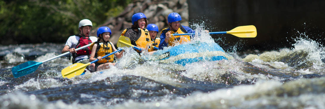 Whitewater Rafting NH Androscoggin