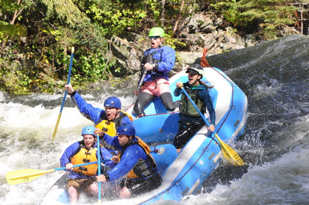 White Water Rafting Maine Kennebec